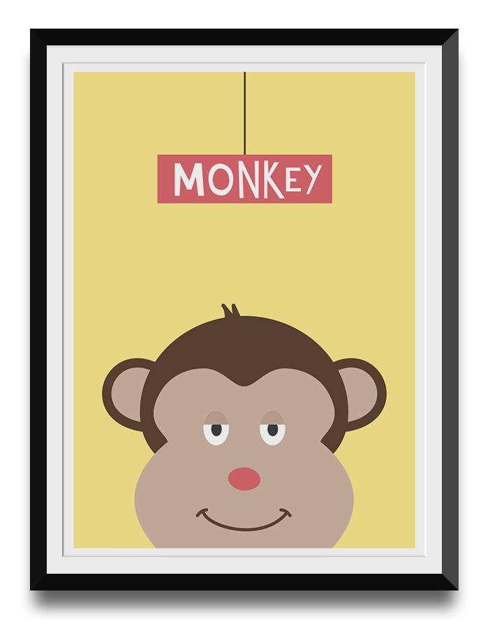 friendly-monkey-illustration-animal-nursery-printable-web